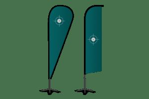 Beachflags / Fahnen