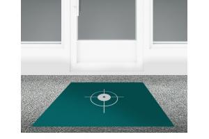 Bodenaufkleber Außenanwendung