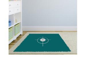 Bodenaufkleber Teppich
