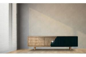 Transparente Möbelfolie