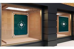 Schaufenster Werbesysteme