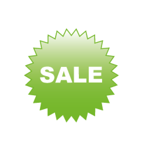 Sale grün Format 50 x 50 cm