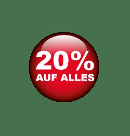 20% auf Alles Format 40 x 40 cm