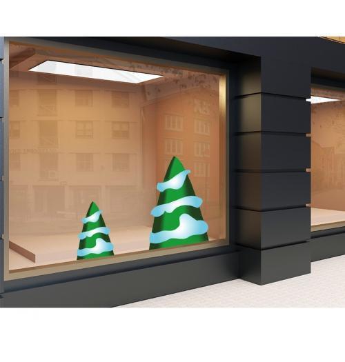 Aufkleber 120 x 50cm Weihnachten 9
