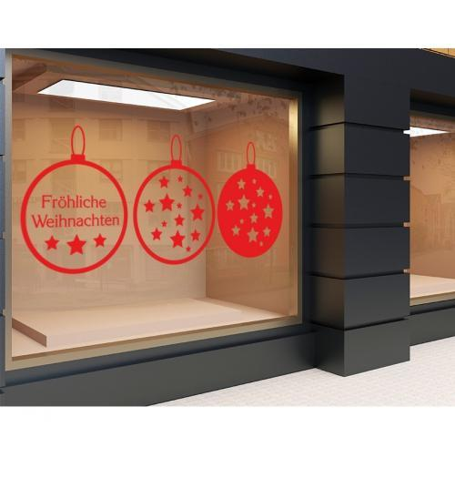 Plott rot 120 x 50cm Weihnachten Set 4