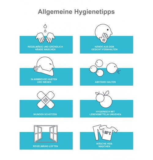 Poster Hygienetipps A4