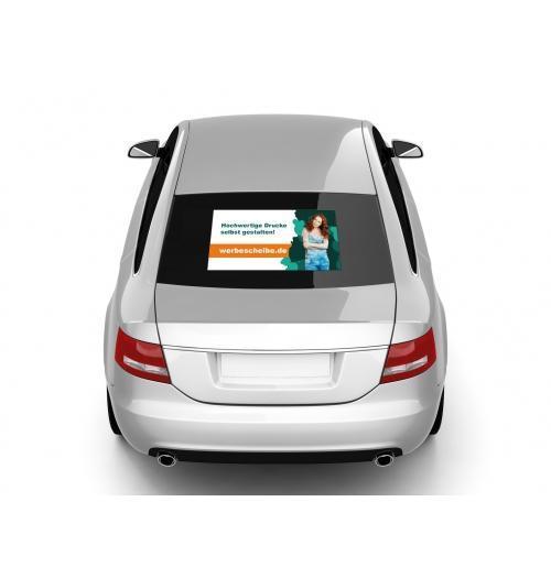 Autoaufkleber Heck individuelles Format