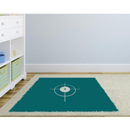 Bodenfolie innen auf Teppich individuelles Format