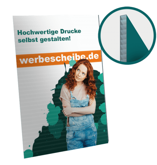 Hohlkammer Plakat 84 x 118cm A0