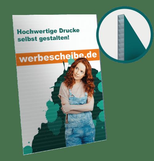 Hohlkammer Plakat 100 x 70cm B1