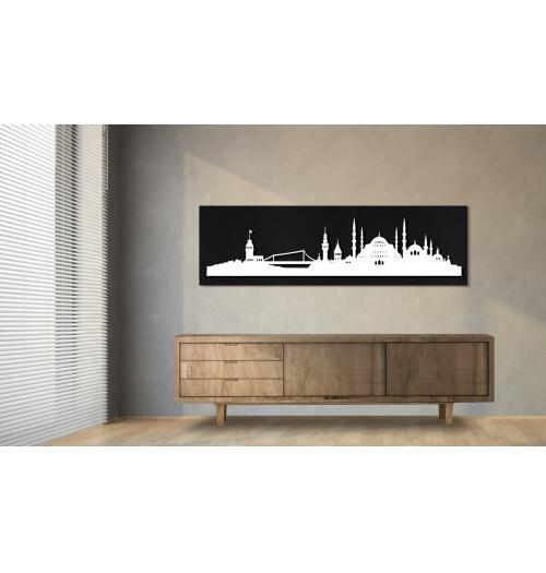 Istanbul schwarz 100 x 25cm