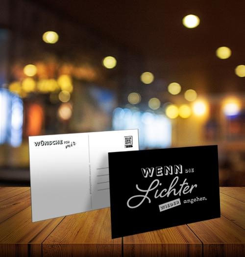 Postkarte 'Hoffnungsschimmer' 10er Bundle