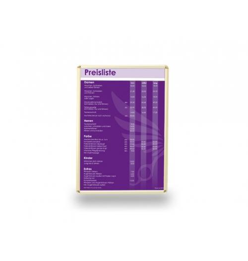 Poster Klapprahmen Standardformate