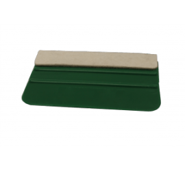Rakel Kunststoff mit Filzkante