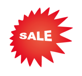Sale Stern 60 x 60 cm