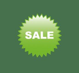 Sale grün Format 40 x 40 cm