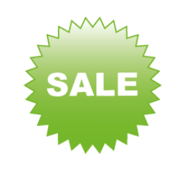 Sale grün Format 60 x 60 cm