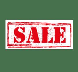 Sale Pinsel Format 80 x 40 cm