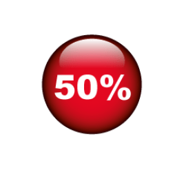 50% Format 40 x 40 cm