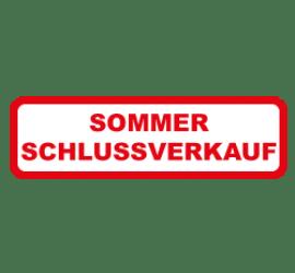 Sommer Schlussverkauf Format 80 x 40 cm