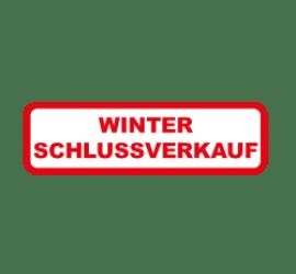 Winter Schlussverkauf Format 40 x 20 cm