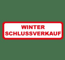 Winter Schlussverkauf Format 80 x 40 cm