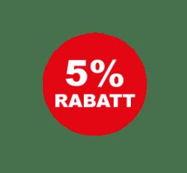 5% Format 40 x 40 cm