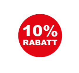 10% Format 40 x 40 cm