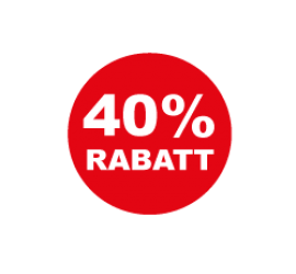 40% Format 40 x 40 cm