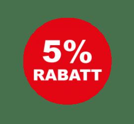 5% Format 50 x 50 cm