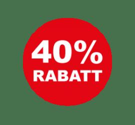 40% Format 50 x 50 cm