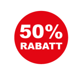 50% Format 50 x 50 cm