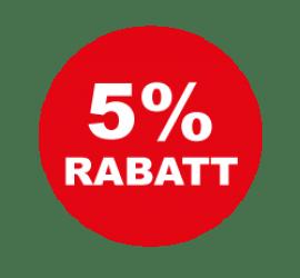 5% Format 60 x 60 cm