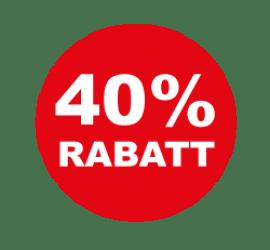 40% Format 60 x 60 cm