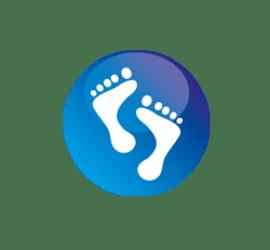 Füße Format 40 x 40 cm