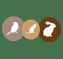 Tiere Format 150 x 52 cm