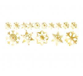 Plott gold 120 x 40cm Weihnachten Set 1