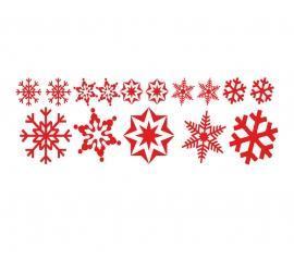 Plott rot 120 x 40cm Weihnachten Set 1