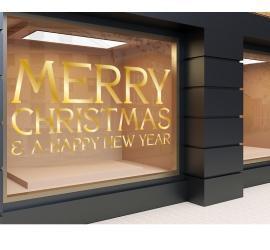 Plott gold 120 x 56cm Weihnachten 5