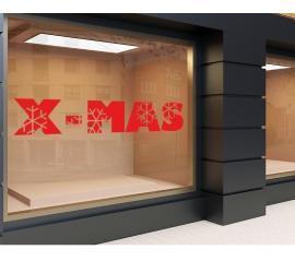 Plott rot 120 x 20cm Weihnachten 9