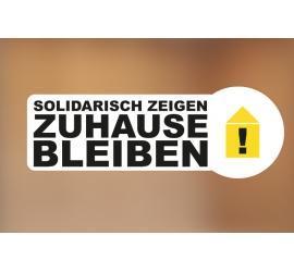 Klebefolie 15x5cm Solidarität