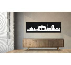 Berlin schwarz 100 x 25cm
