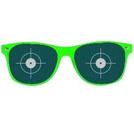 Partybrille grün