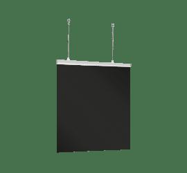 Deckenhänger-Schutzscheibe 100x100cm