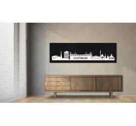 Dortmund schwarz100 x 25cm