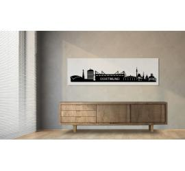 Dortmund weiß 100 x 25cm