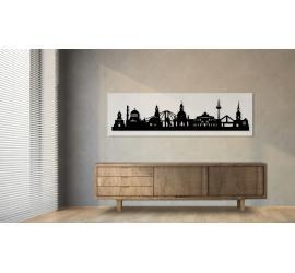 Dresden weiß 100 x 25cm