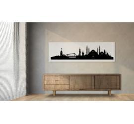 Istanbul weiß 100 x 25cm