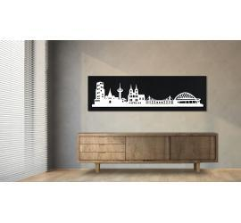Köln schwarz 100 x 25cm