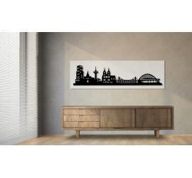 Köln weiß 100 x 25cm